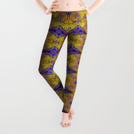 Tree Ring Mandala Leggings