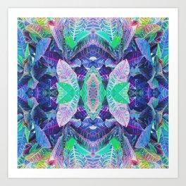 Leaf Illusions Art Print