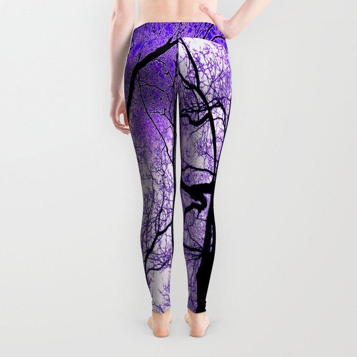 The Trees Know (purple) Leggings