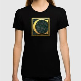 Monogram Letter 'C' Initial T-shirt