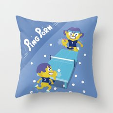 Chuchuporn-Ping Porn Throw Pillow