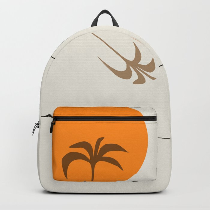 Desert Heat and Palm Backpack