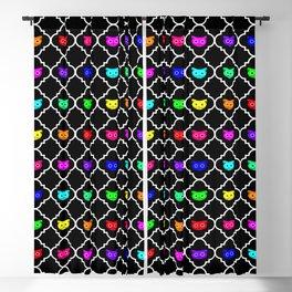 Rainbow Catrefoil No.2 Blackout Curtain