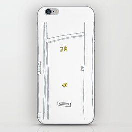 20 Camden High St in London iPhone Skin