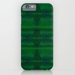 Patterns II Green iPhone Case