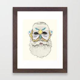 Mothbums Portrait N°8 Framed Art Print