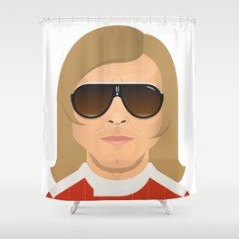 James Hunt Shower Curtain