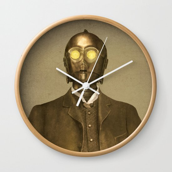 Baron Von Three PO  Wall Clock