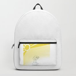 Happiness is sunshine  Backpack