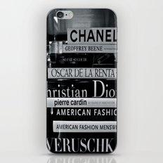 Fashion Books iPhone & iPod Skin