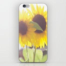 August Sunflower iPhone Skin