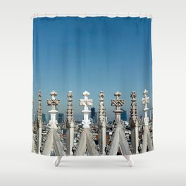 The Old and The new Shower Curtain