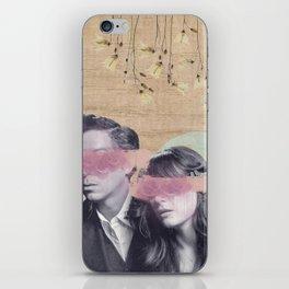 Feminine Collage IV iPhone Skin