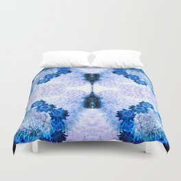 Crowning Flowers Duvet Cover
