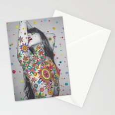 Kiss the Rainbow Stationery Cards