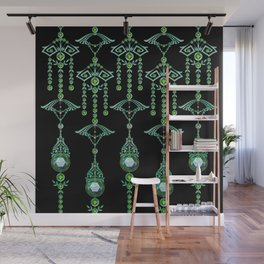 CASTELLINA JEWELS: BLUE GREEN DREAM Wall Mural