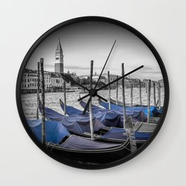 VENICE Grand Canal and St Mark's Campanile Wall Clock