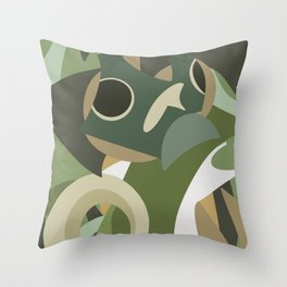 Shapes of Bruce Throw Pillow