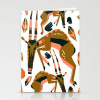 africa Stationery Cards featuring Africa by Marijke Buurlage