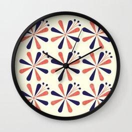 Lime Blossom Wall Clock