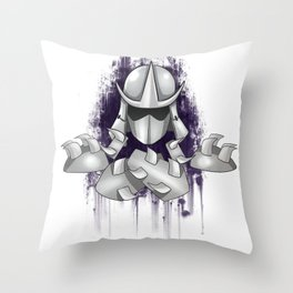 Shredder -Teenage Mutant Ninja Turtle Throw Pillow