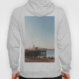 Dock With Mill-Film Camera Hoody