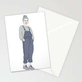 Fashion illustration - Girl Gang Prints - Bee Stationery Cards