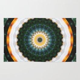 Mandala happy new year Rug