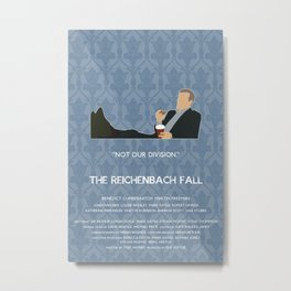 The Reichenbach Fall - Greg Lestrade Metal Print