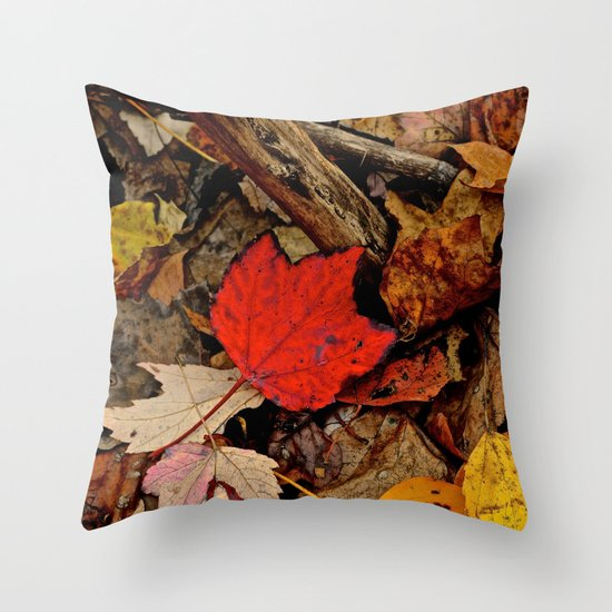 The Fallen Throw Pillow