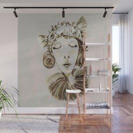 Ophelia´s premonitory dream Wall Mural