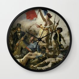 Liberty Leading the People (High Resolution) Wall Clock