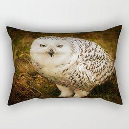 Look Deep Into Nature Rectangular Pillow