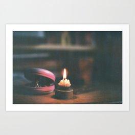 light it up Art Print