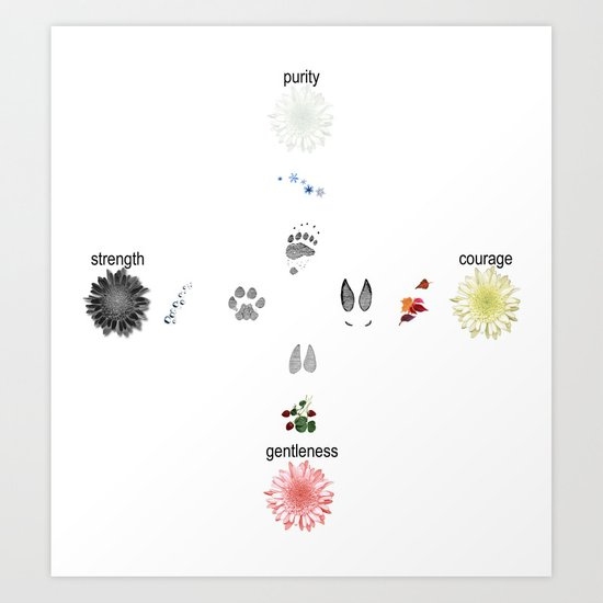Oneida Nation - Four Winds Art Print