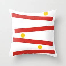The Rise of Kong Throw Pillow