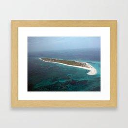 Hospital Key, Dry Tortugas Florida   Framed Art Print