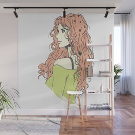 beautifull anime girl Wall Mural