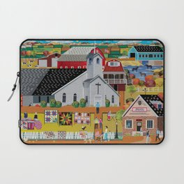 Country Quilting Church Laptop Sleeve