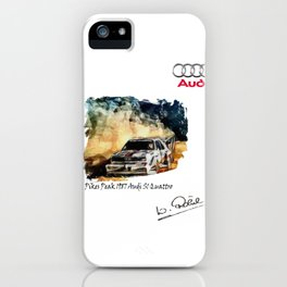 Group B Legends at Peak iPhone Case