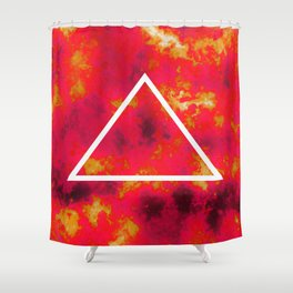 FIRE 1 Shower Curtain