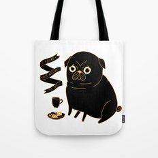 Tea Pug Tote Bag