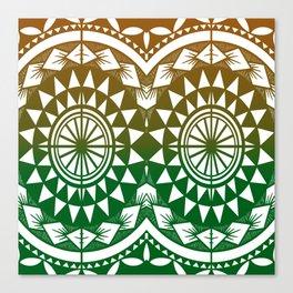 Tatau Canvas Print
