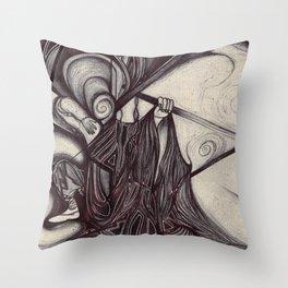 s w o r d  Throw Pillow
