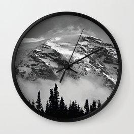Climb that Goddamn Mountain Wall Clock