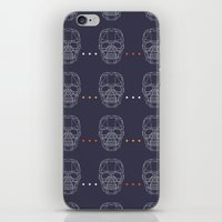 skulls iPhone & iPod Skins featuring Skulls by Hipster
