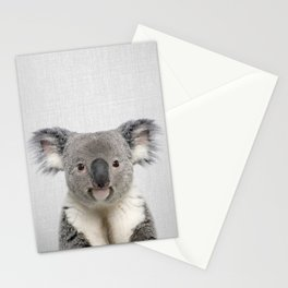 Koala 2 - Colorful Stationery Cards