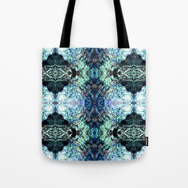 Paua Shell  Inspired Pattern Tote Bag