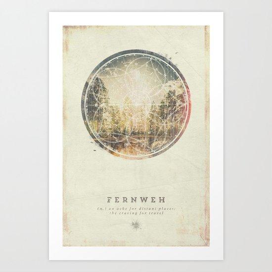 Fernweh Vol 7 Art Print