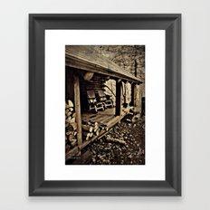 Come Rock Awhile Framed Art Print
